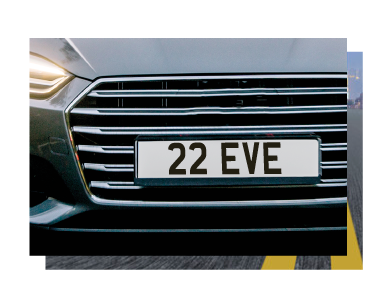 Dateless Style Number Plates