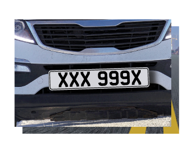 Suffix Style Number Plates